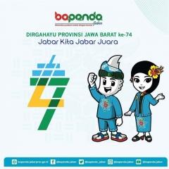 175  Dirgahayu Provinsi Jawa Barat ke-74