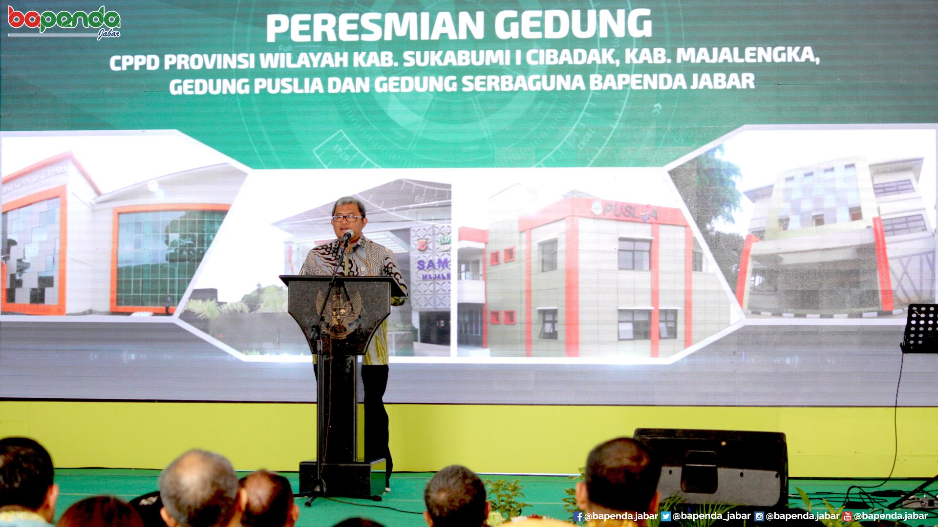 Peresmian CPPD Cibadak oleh Gubernur Jawa Barat Ahmad Heryawan