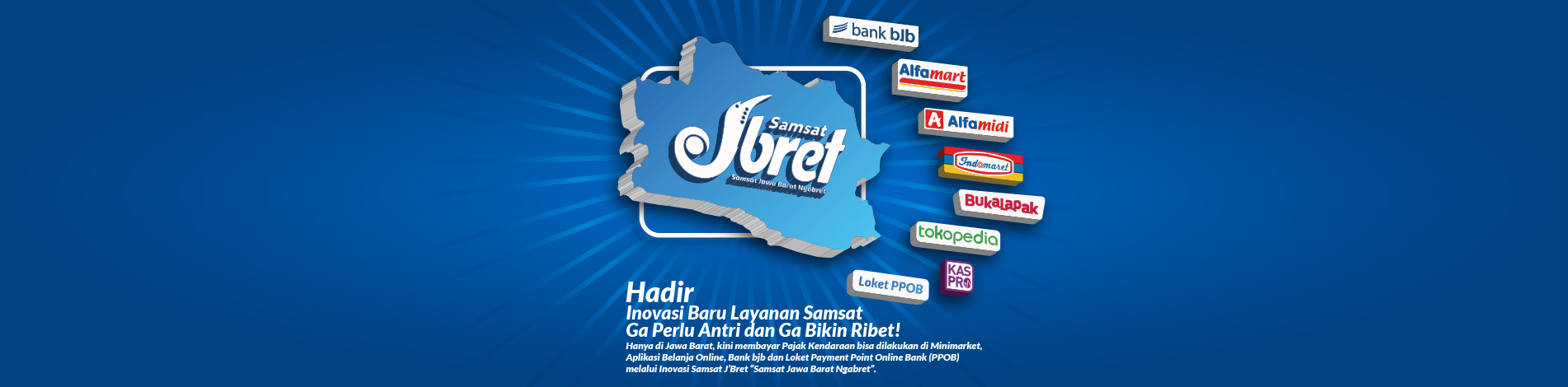Banner Samsat Jbret Website