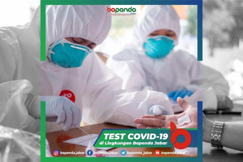 Bapenda Jabar Lakukan Rapid Test Covid 19 Untuk Pegawai Bapenda Jabar